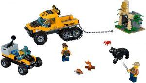 Lego City 60159 Viidakon Puolitelaketjuauton Tehtävä
