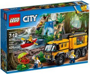 Lego City 60160 Viidakon Siirrettävä Laboratorio
