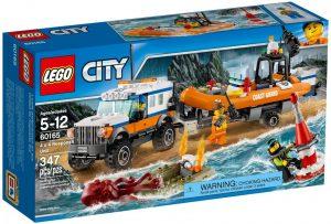 Lego City 60165 Nelivetoinen Partioauto