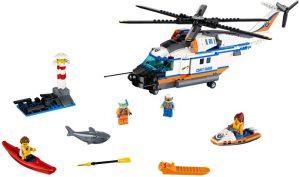 Lego City 60166 Järeä Pelastushelikopteri