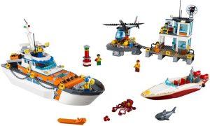 Lego City 60167 Rannikkovartioston Päämaja