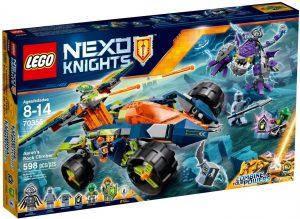 Lego Nexo Knights 70355 Aaronin Kalliokiipeilijä