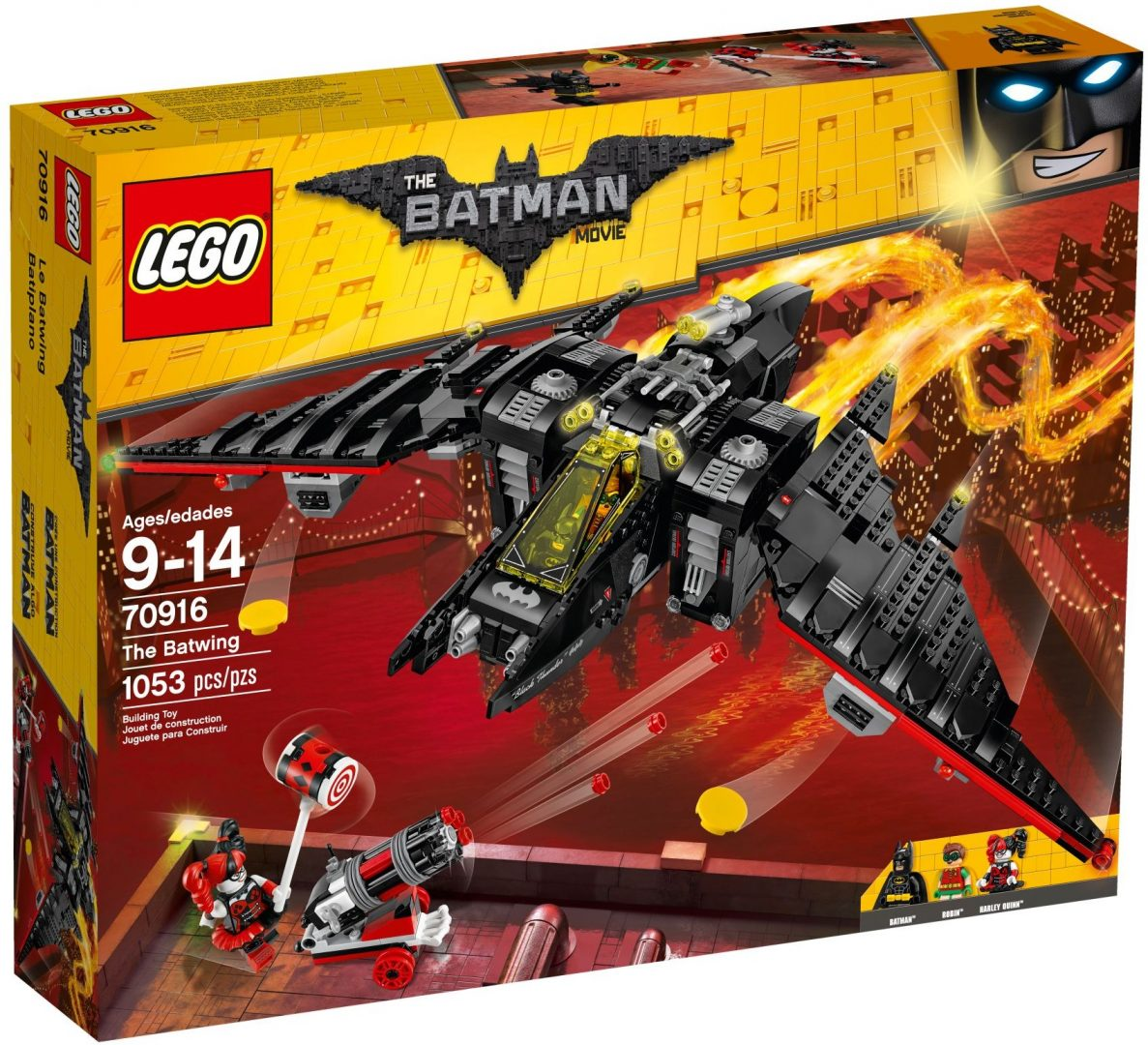 Lego Batman Movie 70916 Batwing
