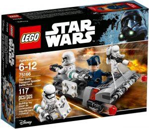 ego Star Wars 75166 Ensimmäisen Ritarikunnan Kuljetuskiituri -Taistelupaketti