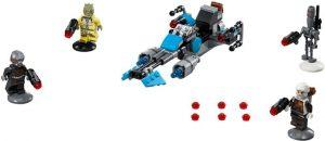 Lego Star Wars 75167 Bounty Hunterin Kiituripyörä -Taistelupaketti