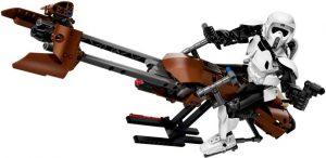 Lego Star Wars 75532 Tiedustelusotilas ja Kiituripyörä
