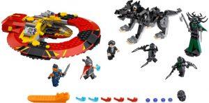Lego Super Heroes 76084 Hurja Taistelu Asgardista