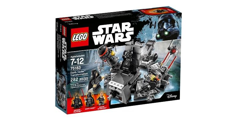 Lego Star Wars 75183 Darth Vaderin Muodonmuutos