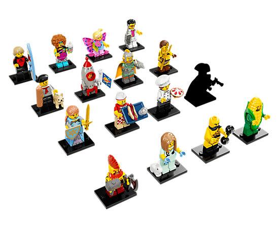 Lego Minifigures 71018 Series 17