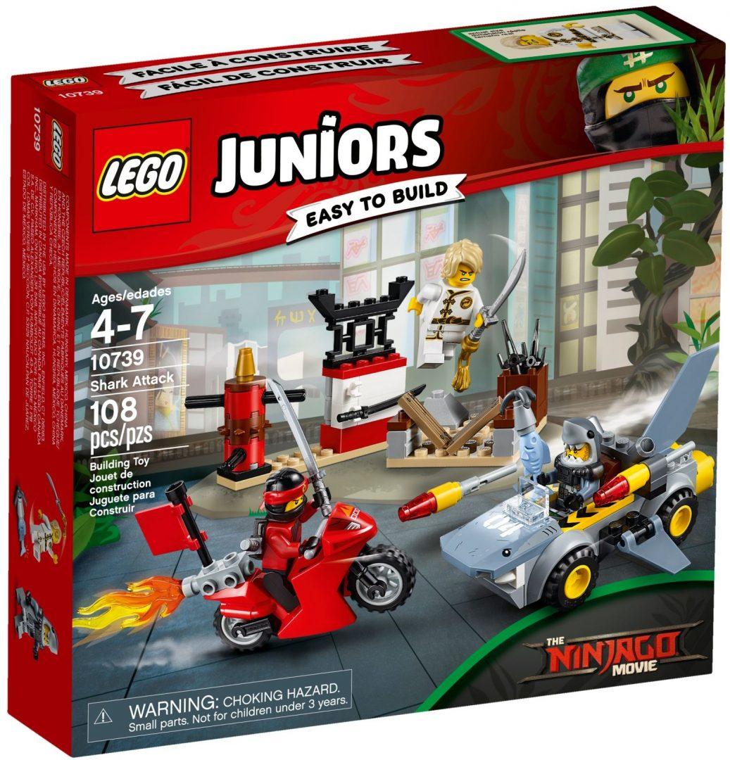 Lego Juniors 10739 Haihyökkäys