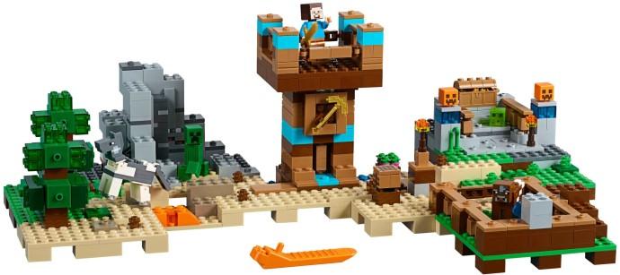 Lego Minecraft 21135 Rakennuslaatikko 2.0