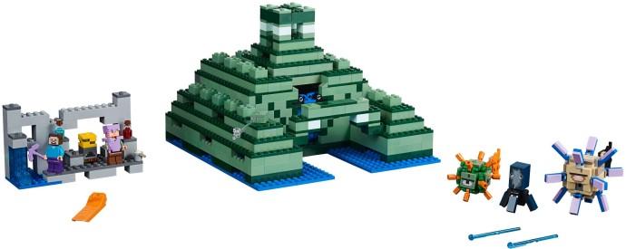Lego Minecraft 21136 Merimonumentti