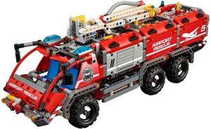 Lego Technic 42068 Lentokentän Pelastusauto