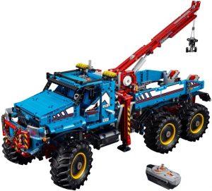 Lego Technic 42070 Kuusivetoinen Maastohinausauto