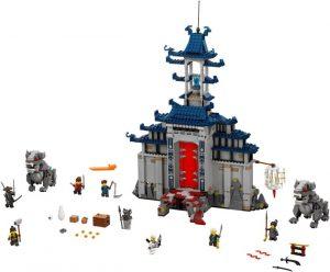 Lego Ninjago 70617 Mahtavimmista Mahtavimman Aseen Temppeli