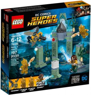 Lego Super Heroes 76085 Atlantiksen Taistelu
