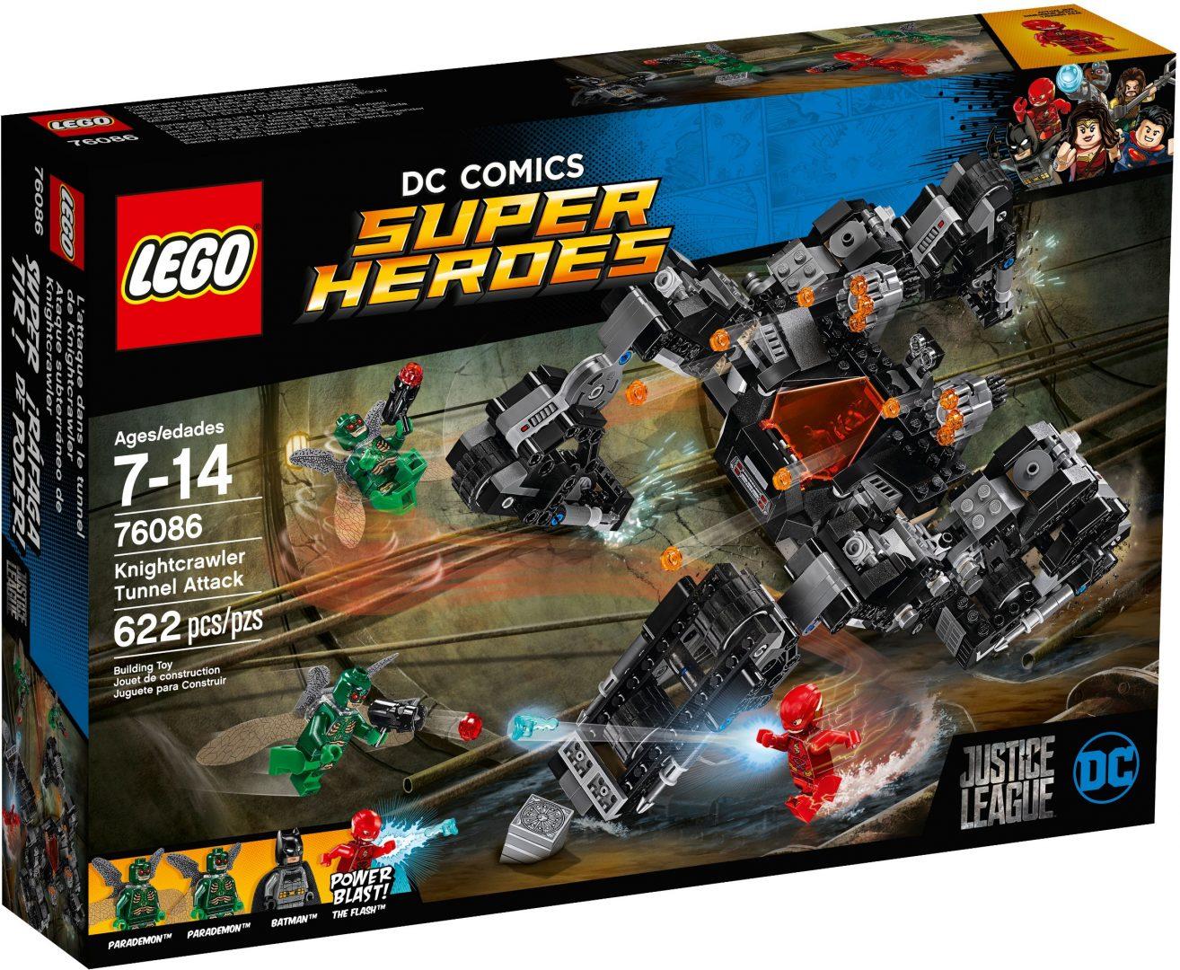 Lego Super Heroes 76086 Ritariryömijän Tunnelihyökkäys