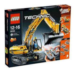 Lego Technic 8043 Moottoroitu Kaivinkone