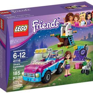 Lego Friends 41116 Olivian Tutkimusauto