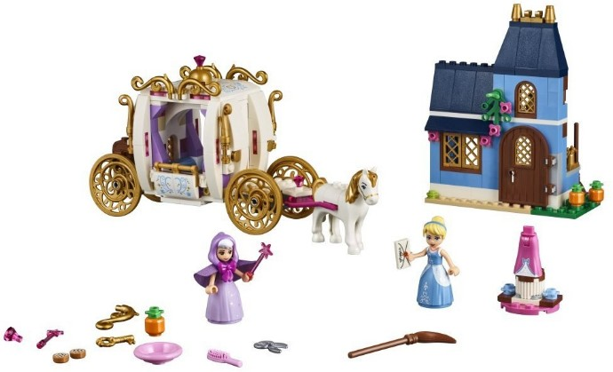 Lego Disney Princess 41146 Tuhkimon Lumottu Ilta