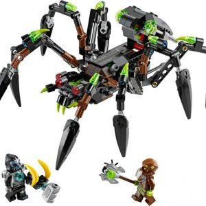 Lego Legends of Chima 70130 Sparratusin Hämähäkkihiipijä
