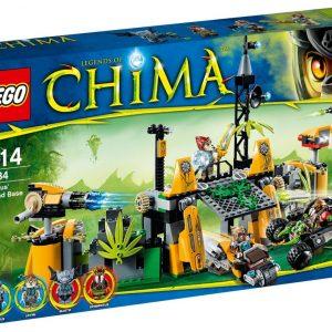 Lego Legends of Chima 70134 Lavertusin Tukikohta