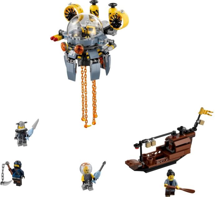 Lego Ninjago 70610 Lentävä Meduusasukellusvene