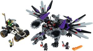Lego Ninjago 70725 Nindroidirobottilohikäärme