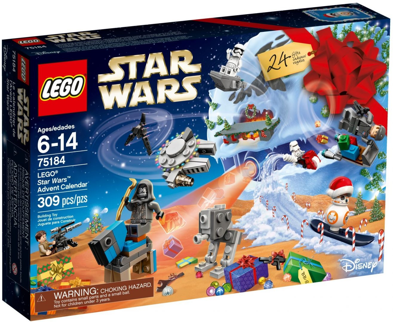 Lego Star Wars 75184 Joulukalenteri