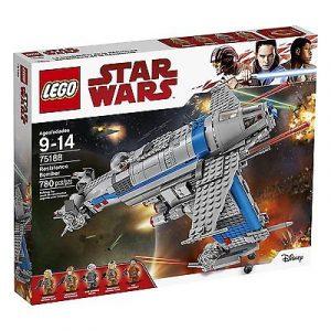 Lego Star Wars 75188 Vastarinnan Pommikone