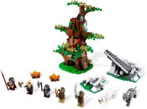 Lego Hobbit 79002 Hukkien Hyökkäys