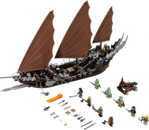 Lego Lord of the Rings 79008 Merirosvolaivan Väijytys