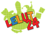 Lelut24 logo
