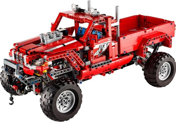 Lego Technic 42029 Kustomoitu Avopakettiauto