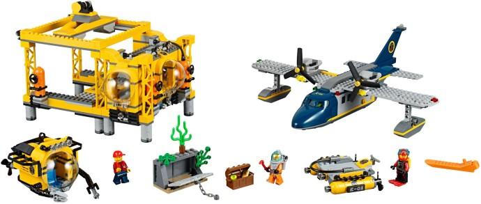 Lego City 60096 Syvänmeren Tukikohta
