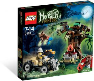 Lego Monster Fighters 9463 Ihmissusi