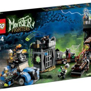 Lego Monster Fighters 9466 Hullu Tiedemies ja Hänen Hirviönsä