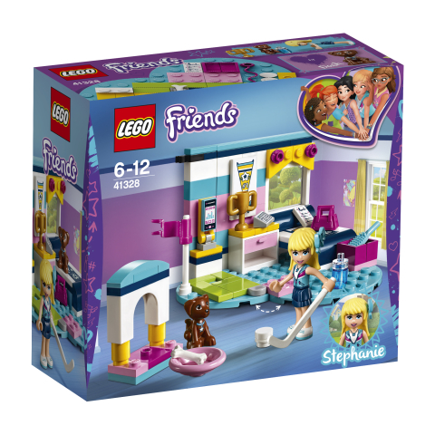 Lego Friends 41328 Stephanien Makuuhuone