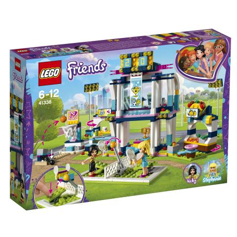 Lego Friends 41338 Stephanien Urheiluareena