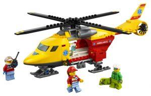 Lego City 60179 Ambulanssihelikopteri