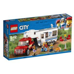 Lego City 60182 Avopakettiauto ja Asuntovaunu