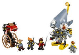 Lego Ninjago 70629 Piraijahyökkäys