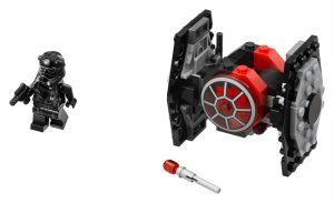 Lego Star Wars 75194 Ensimmäisen Ritarikunnan TIE-mikrohävittäjä