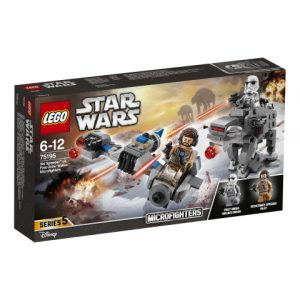 Lego Star Wars 75195 Suksikiituri Vastaan Ensimmäisen Ritarikunnan talsija -mikrohävittäjät