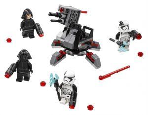 Lego Star Wars 75197 Ensimmäisen Ritarikunnan Spesialistien Taistelujoukko