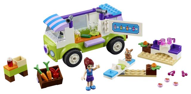 Lego Juniors 10749 Mia Luomuruokamarkkinoilla