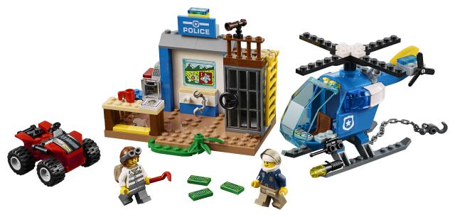 Lego Juniors 10751 Vuoristopoliisin Takaa-ajo