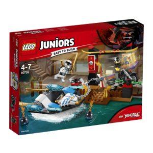 Lego Juniors 10755 Zane ja Takaa-ajo Ninjaveneellä