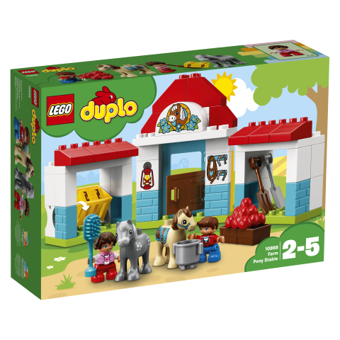 Lego Duplo 10868 Maatilan Ponitalli Lelut24