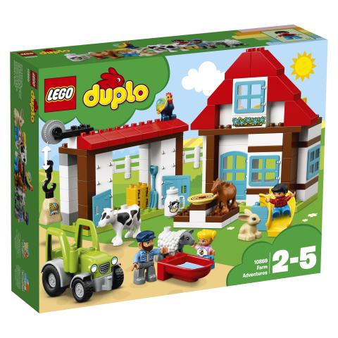 Lego Duplo 10869 Maatilaseikkailut